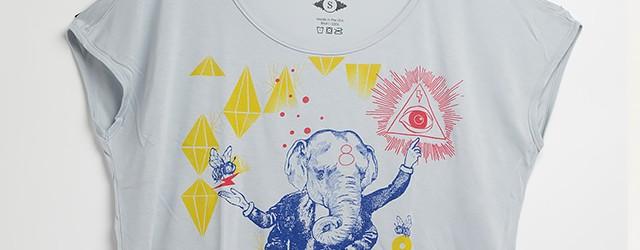[NEW] Bee 3,600円(税込) LADIES  サラリとした生地のTシャツ。ノースリーブトップ。 丈が短めのタイプです。 タンクトップやキャミソールの上から着てみて!