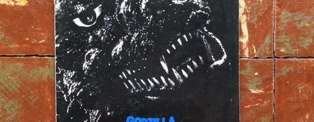 1984年東宝映画 『ゴジラ』当時の映画パンフレット